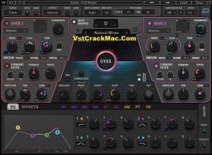 OVox Vocal ReSynthesis VST Crack Mac + Torrent (2021)