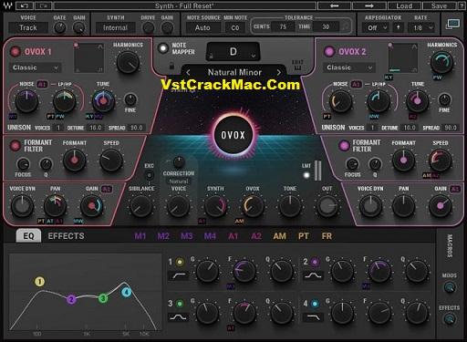 OVox Vocal ReSynthesis Vst Crack (Mac) Download [Works100%]