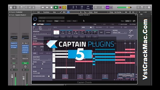 Captain Chord 5.1 Crack Mac + Torrent VST Plugin (Full Version)