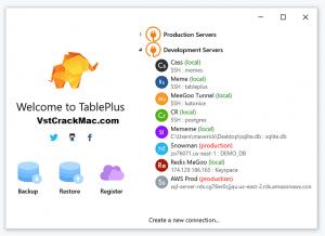 TablePlus 4.6.5 Crack + License Key (Mac) Free Download